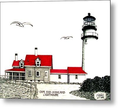 Cape Cod - Highland - Lighthouse Metal Print