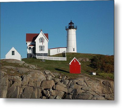 Cape Neddick Metal Print by Catherine Gagne