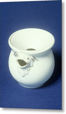 Ceramic Spittoon Metal Print