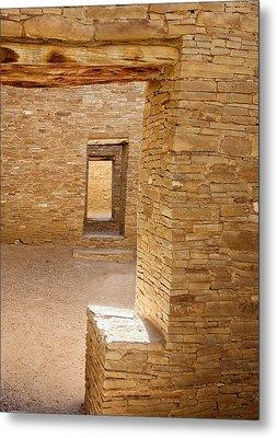 Chaco Canyon Metal Print by Steven Ralser