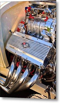 Chevrolet Corvette Engine Metal Print by Jill Reger
