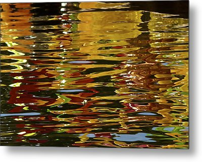 Metal Print featuring the photograph Chihuly Reflections IIi by John Babis