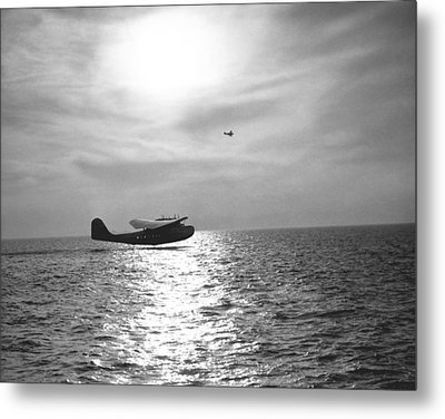 China Clipper Seaplane Metal Print by Underwood Archives