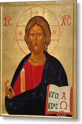 Christ Pantocrator Metal Print