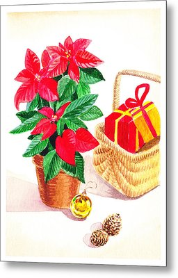 Christmas  Metal Print by Irina Sztukowski