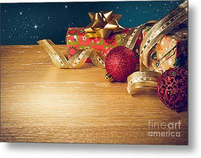Christmas Still-life Metal Print by Carlos Caetano