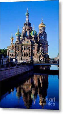 Church Of The Spilt Blood Metal Print by Shirley Mangini