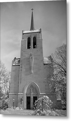 Church Metal Print by Thomas Fouch