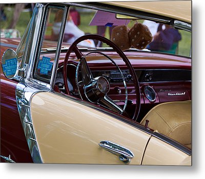 Metal Print featuring the photograph Classic American Car by Mick Flynn