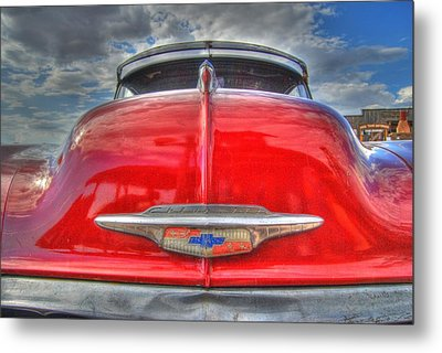 Classic Chevy Metal Print by Tam Ryan