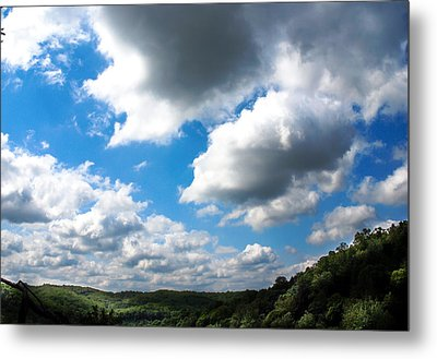 Clouds Metal Print by Optical Playground By MP Ray