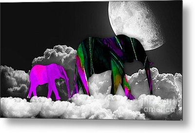 Cloudy Metal Print by Marvin Blaine