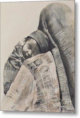 Contentment Metal Print by Terri Ana Stokes