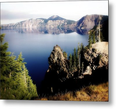 Crater Lake 1 Metal Print by Marty Koch