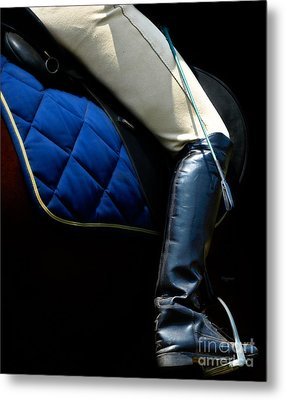 Crop And Boot  Metal Print by Steven Digman