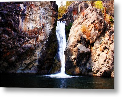 Crow Creek Falls Metal Print