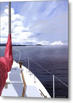 Cruising North Metal Print