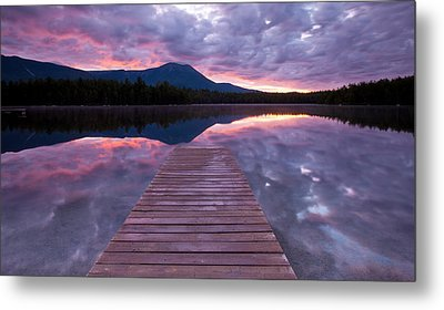 Daicey Pond Sunrise Metal Print by Patrick Downey