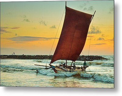 Daily Journey Metal Print by Dumindu Shanaka