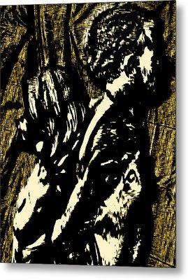 Dark Hearts Metal Print