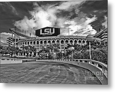 Death Valley - Hdr Bw Metal Print