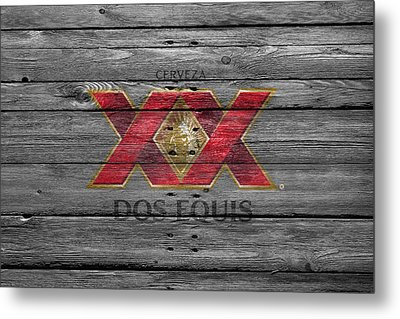 Dos Equis Metal Print by Joe Hamilton