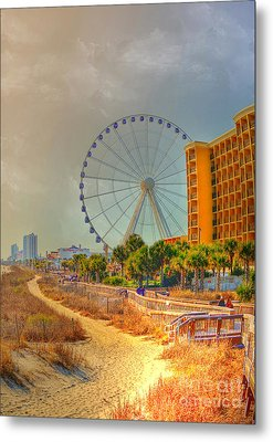 Downtown Myrtle Beach Metal Print