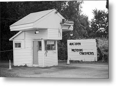 Drive-in Theater Metal Print by Frank Romeo