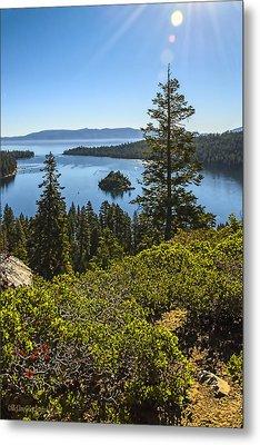 Eagle Falls  Emerald Bay Lake Tahoe California Metal Print by LeeAnn McLaneGoetz McLaneGoetzStudioLLCcom