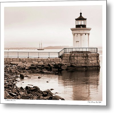 Metal Print featuring the photograph Early Morning Bug Light by Richard Bean