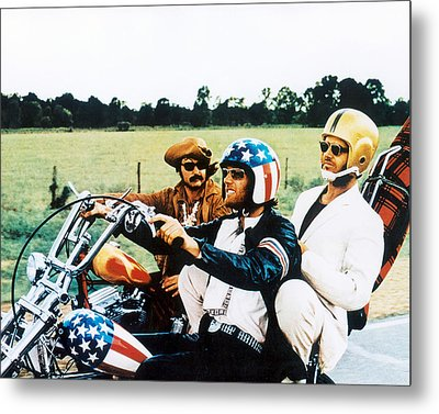 Easy Rider  Metal Print by Silver Screen