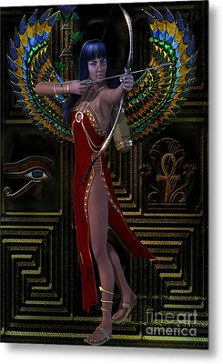 Egypt  Myths And Legends Metal Print by Shadowlea Is