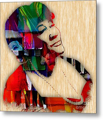 Ella Fitzgerald Collection Metal Print by Marvin Blaine