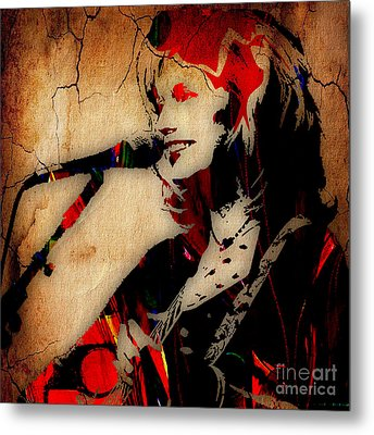Emmylou Harris Collection Metal Print by Marvin Blaine