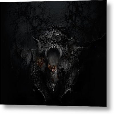 Empire Of Ashes Metal Print