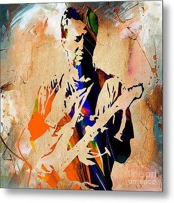 Eric Clapton Collection Metal Print