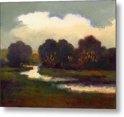 Evening Glow Metal Print by J Reifsnyder