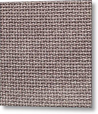 Fabric Background Metal Print by Tom Gowanlock