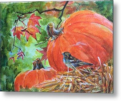 Fall Is Here Metal Print by Jieming Wang