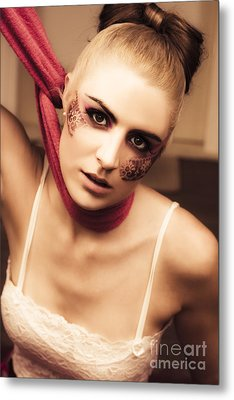 Fashion Victim Metal Print by Jorgo Photography - Wall Art Gallery