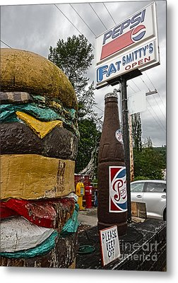 Fat Smittys Metal Print by Gregory Dyer