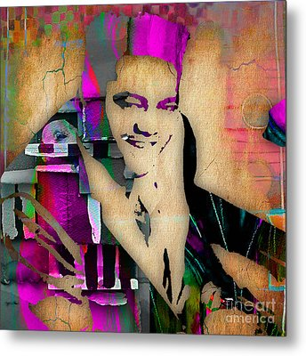 Fats Domino Collection Metal Print