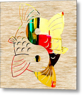 Finding Good Balance Metal Print by Marvin Blaine