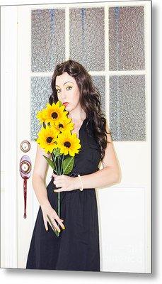 Florist Metal Print by Jorgo Photography - Wall Art Gallery