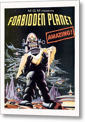 Forbidden Planet  Metal Print by Silver Screen