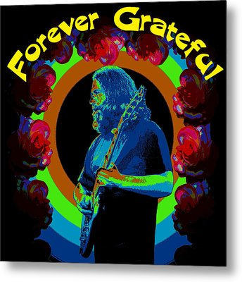 Forever Grateful Metal Print by Ben Upham III