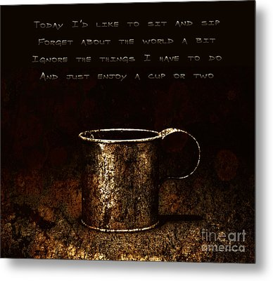 Forget About The World Metal Print