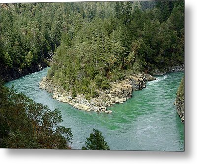 Forks Of The Smith River Metal Print by Betty Depee