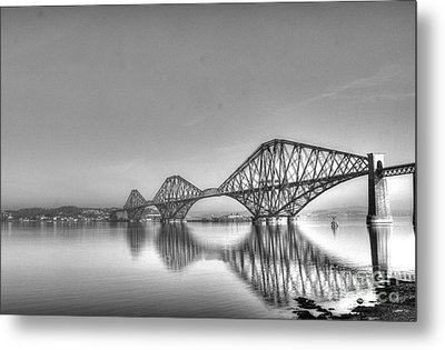 Forth Rail Bridge  Metal Print by David Grant