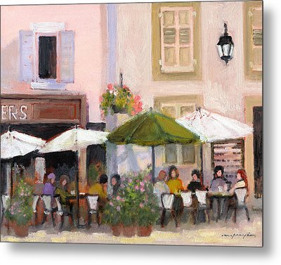 French Country Cafe Il Metal Print